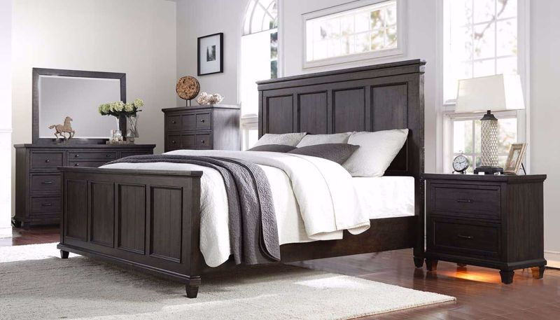 Picture of Cedar Grove 3-Piece Bed, Dresser, Mirror & Nightstand