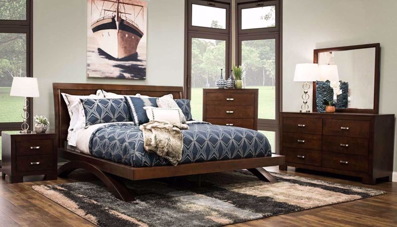 Picture of Condor 3-Piece Bed, Dresser, Mirror & Nightstand
