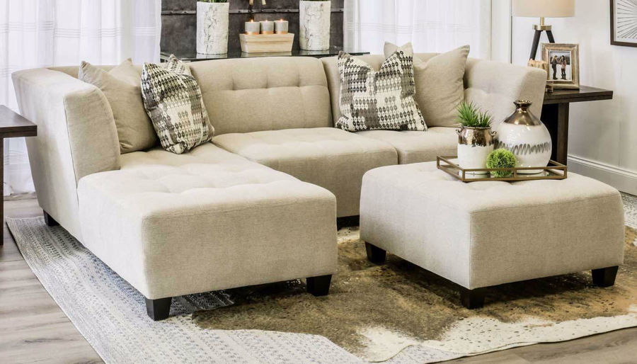 Picture of Cooper Oatmeal 3 Piece Sectional