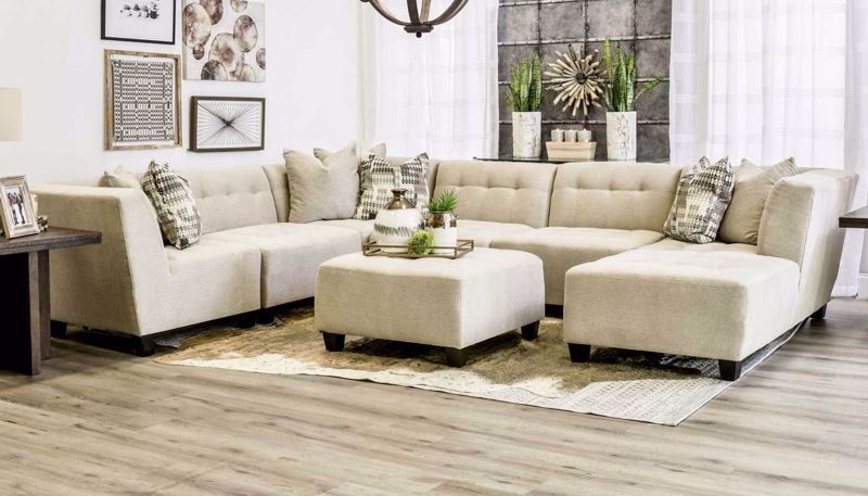 Picture of Cooper Oatmeal 6 Piece Sectional