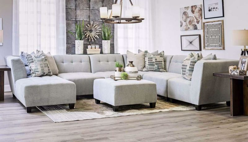 Picture of Cooper Spa 6 Piece Sectional
