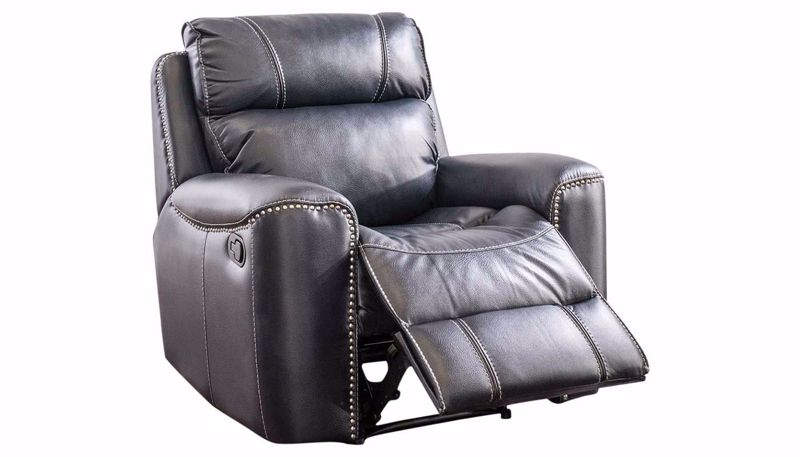 Picture of Da Vinci Blue Recliner