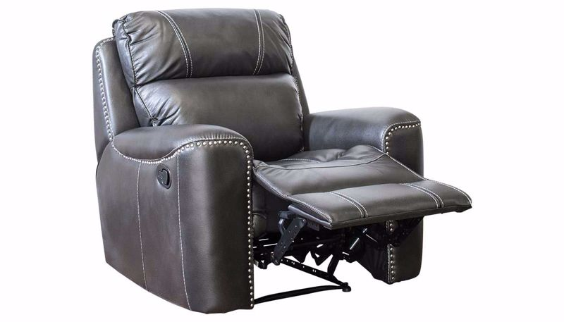 Picture of Da Vinci Grey Recliner
