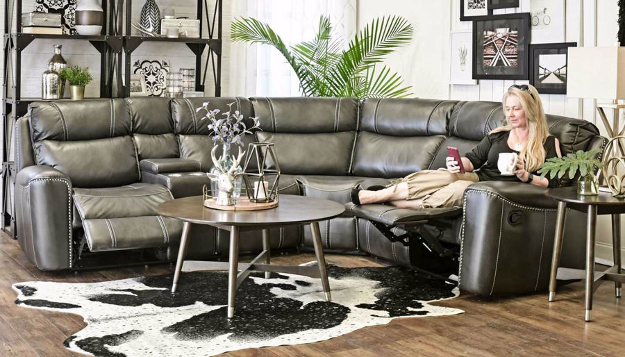 Picture of Da Vinci Grey Sectional