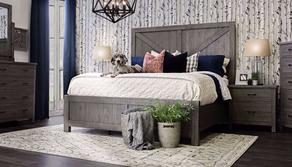 Picture of Dallas 3-Piece Bed, Dresser, Mirror & Nightstand