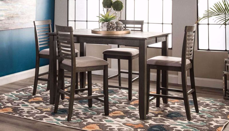Picture of Fredrick Counter Height Table & Stools