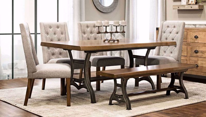 Picture of Live Edge Table & Chairs