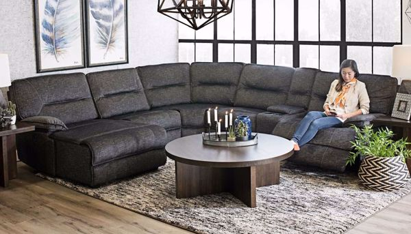 Pacifica 6 Piece Sectional Home Zone Furniture Living