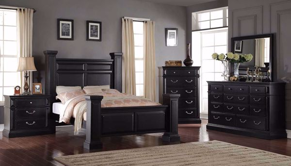 Tejas 6 Piece Collection Home Zone Furniture Bedroom