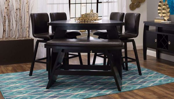 Imagen de Triangle Counter Height Table & Barstools