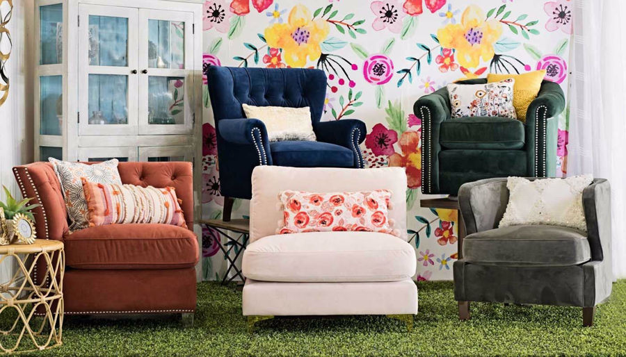 Picture of Alexandria Blossom Accent Chair