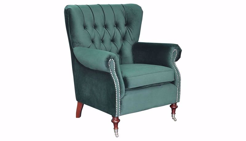 Picture of Alexandria Deep Forest Accent Chair
