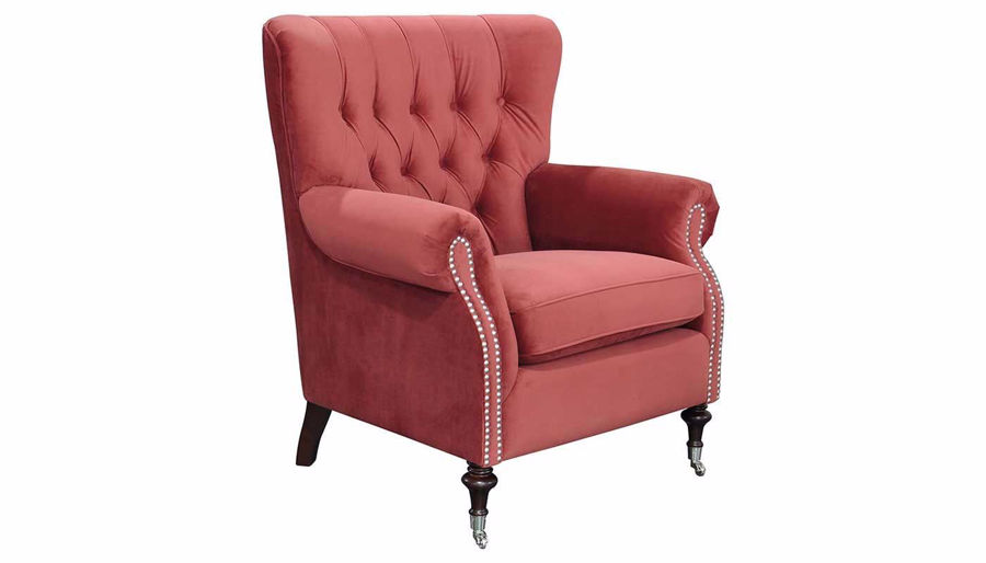 Picture of Alexandria Scanberry Accent Chair