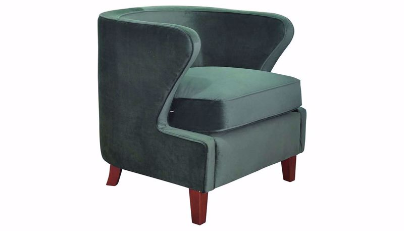 Picture of Babylon Deep Forest Accent Chair