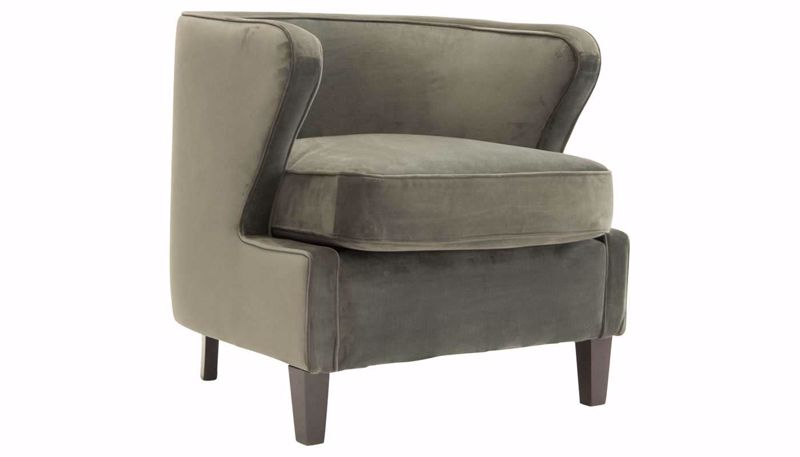 Picture of Babylon Gunmetal Accent Chair