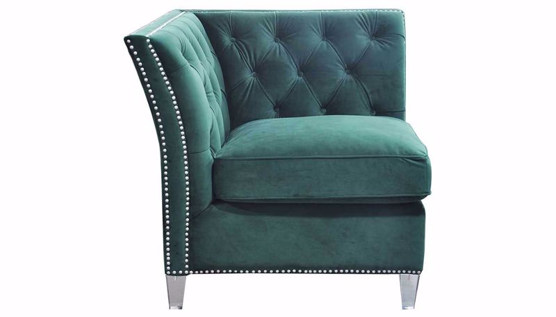 Picture of Giza Deep Forest Accent Chair