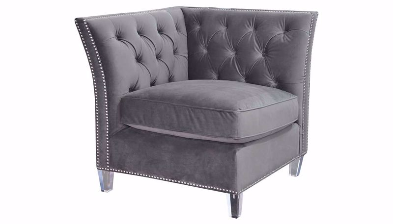 Picture of Giza Gunmetal Accent Chair