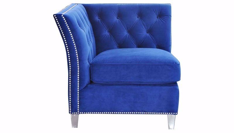 Picture of Giza Royal Blue Accent Chair