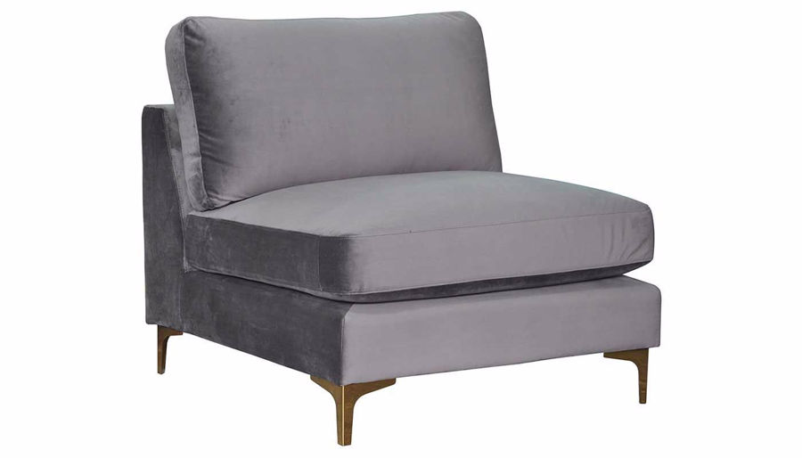 Picture of Rhodes Gunmetal Accent Chair