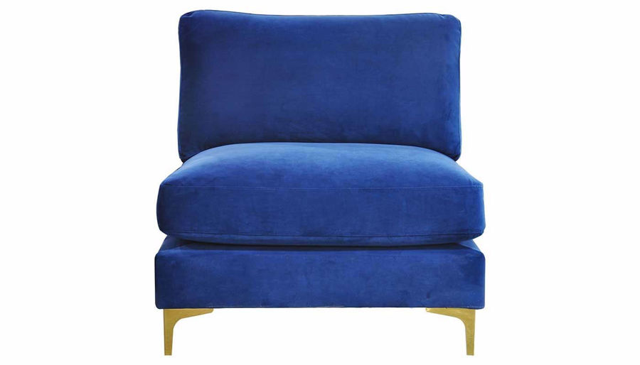 Picture of Rhodes Royal Blue Accent Chair