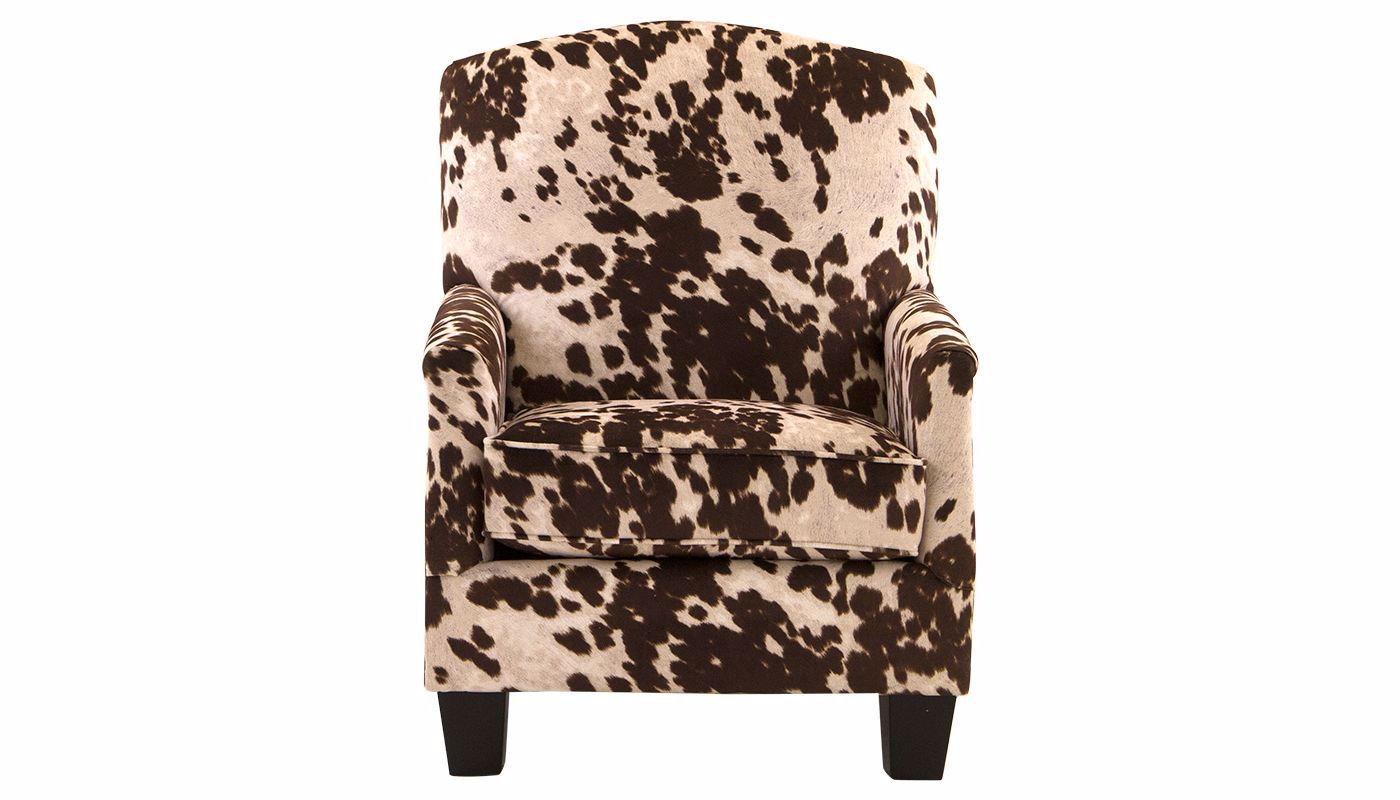 Cowhide Accent Chair - Home Zone Furniture