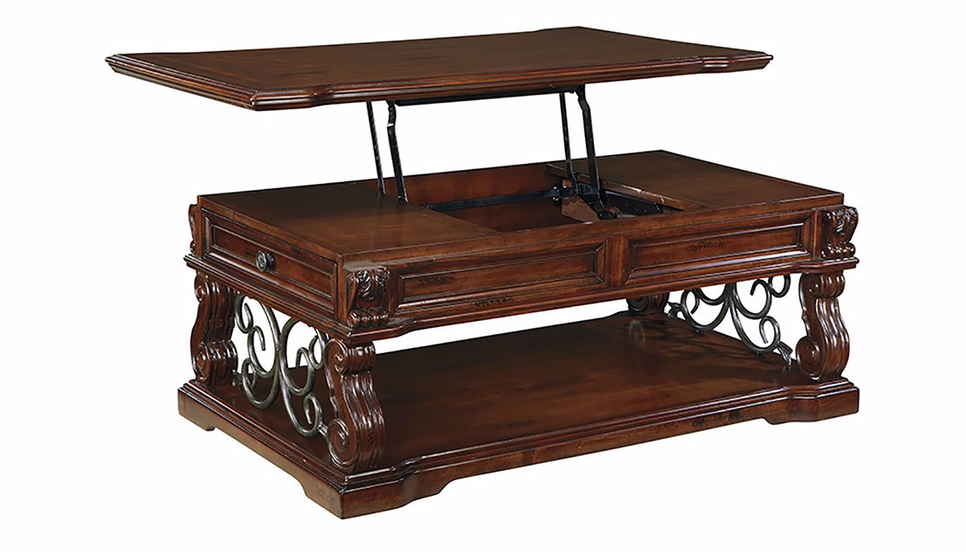 Alymere Lift Top Coffee Table Home Zone Furniture