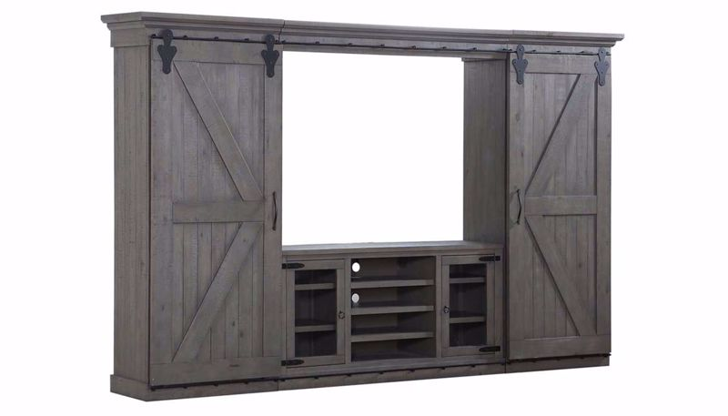 Picture of Chrissy Grey Wall Unit