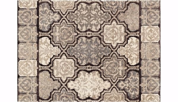 Picture of Modern Tile 7 x 10 Rug