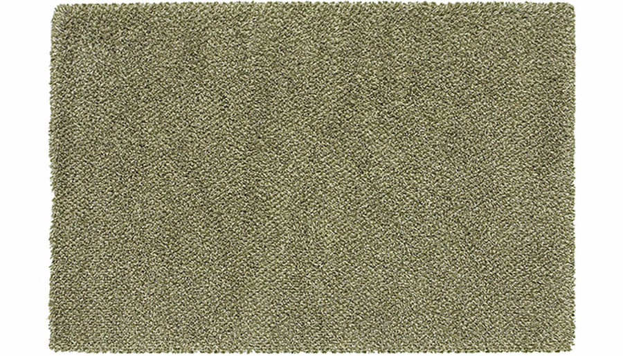 Picture of Loft Green/White Shag 6 x 9 Rug