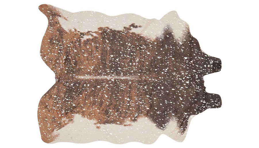 """Picture of Brown Cowhide 6'2"""" X 8' Rug"""
