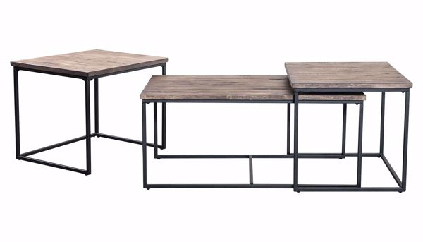 Picture of Waterfall 3 Piece Table Set