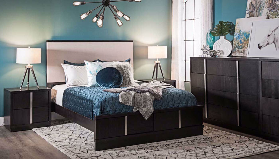 Picture of Jareth 3-Piece Bed, Dresser, Chest & Nightstand