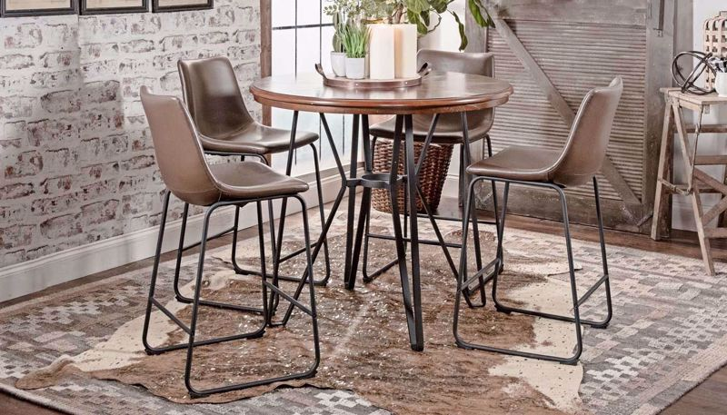 Picture of Lawrence Counter Height Table & 4 Stools