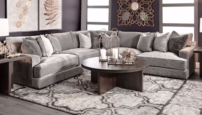 Sectionals - Home Zone Furniture | Living Room Furniture, Furniture ...