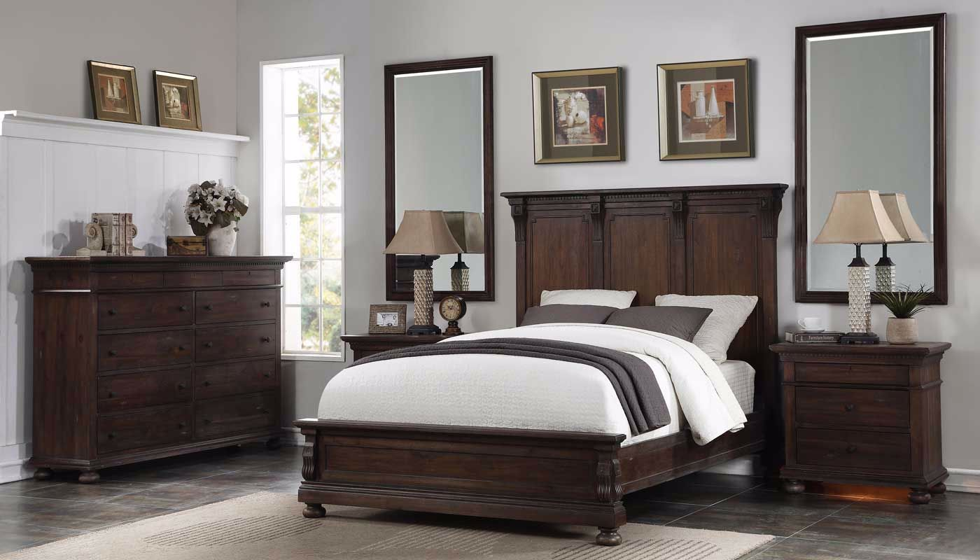 Ava 3 Piece Bed Dresser 2 Mirrors 2 Nightstands Home Zone Furniture Furniture Stores Serving Dallas Fort Worth And Northeast Texas Mattress Sets Living Room Furniture Bedroom Furniture
