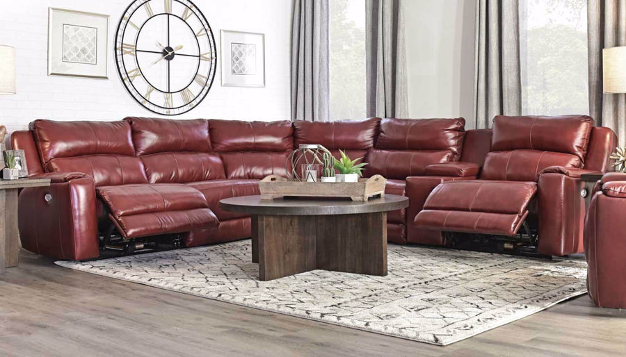 Picture of Overstreet Marsala Sectional
