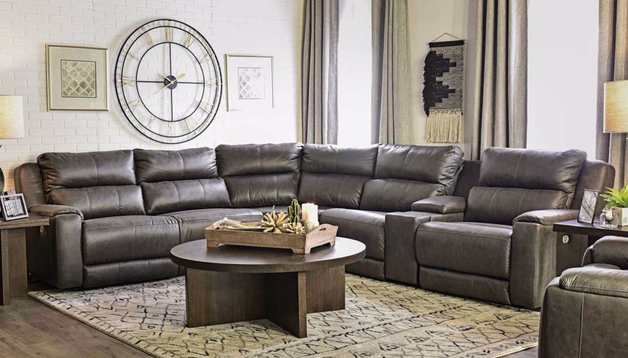 Picture of Overstreet Slate Sectional