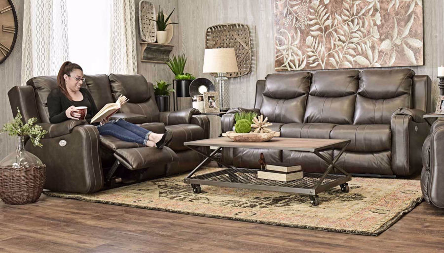 Picture of Sanchez Fossil Power Sofa & Loveseat