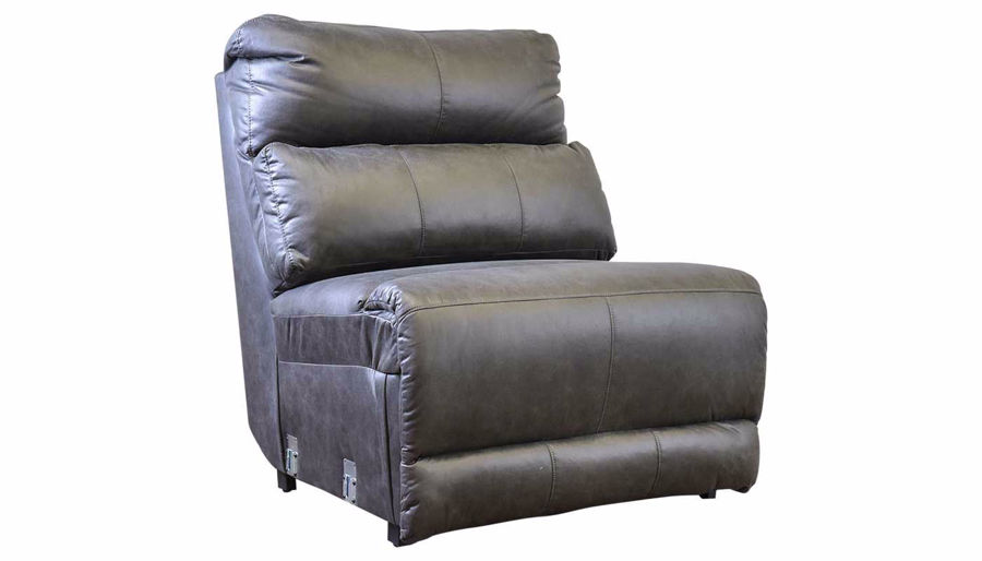 Picture of Overstreet Slate Fabric Armless Recliner with Powe