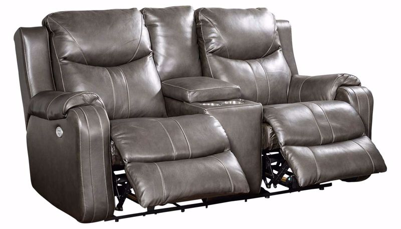 Picture of Sanchez Fossil Power Reclining Loveseat
