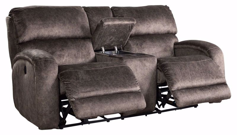 Picture of Sunrise Cocoa Power Loveseat