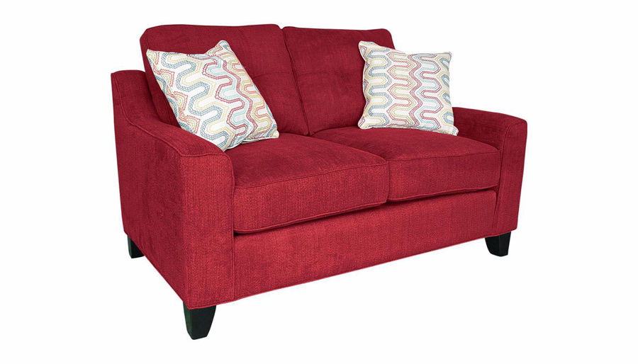 Picture of Madison Park Red Loveseat