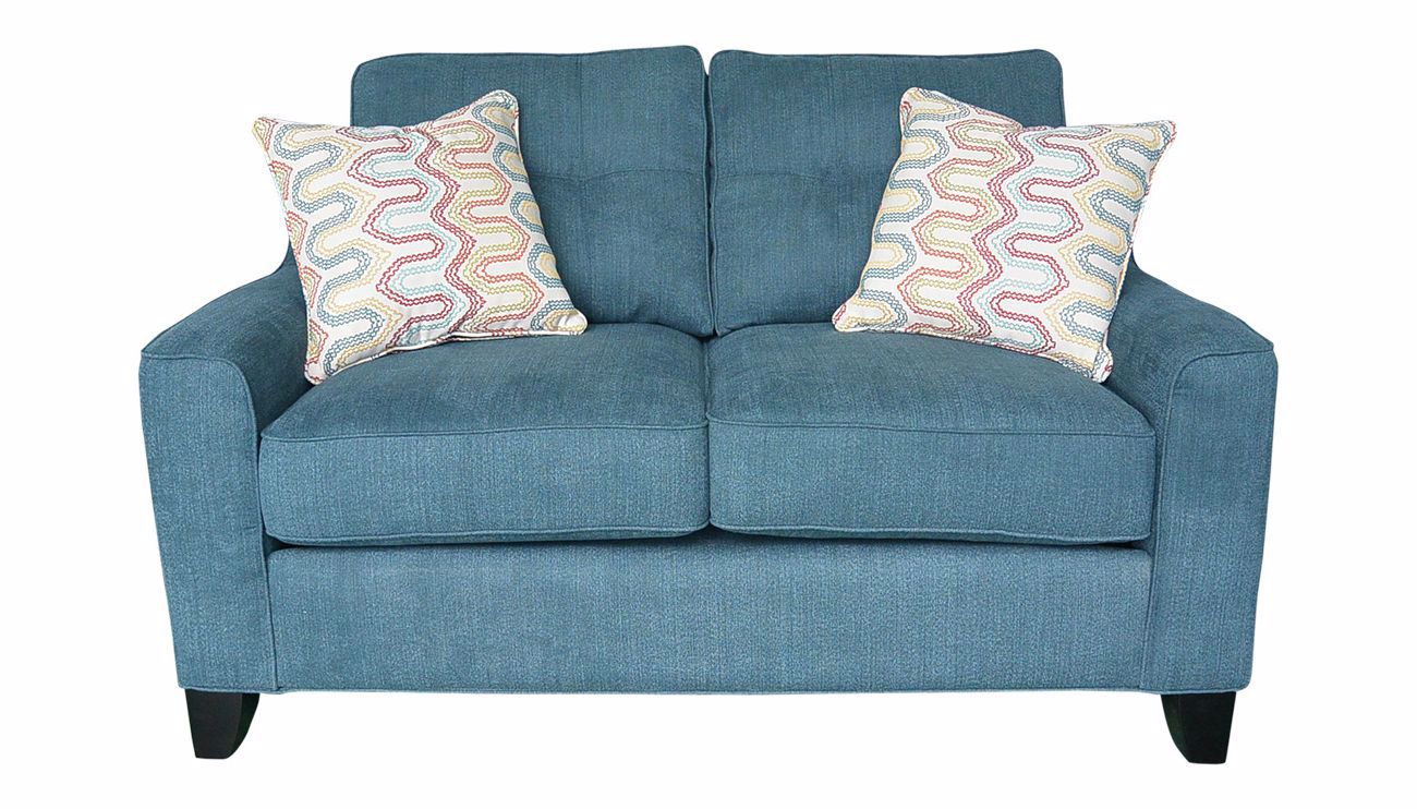 Madison Park Teal Loveseat Home Zone Furniture Home