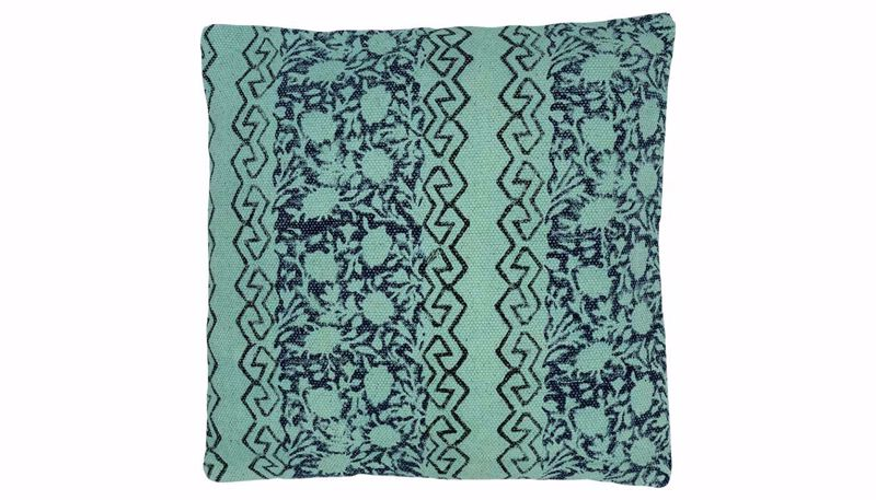 Picture of Anessa Turquoise Print Pillow