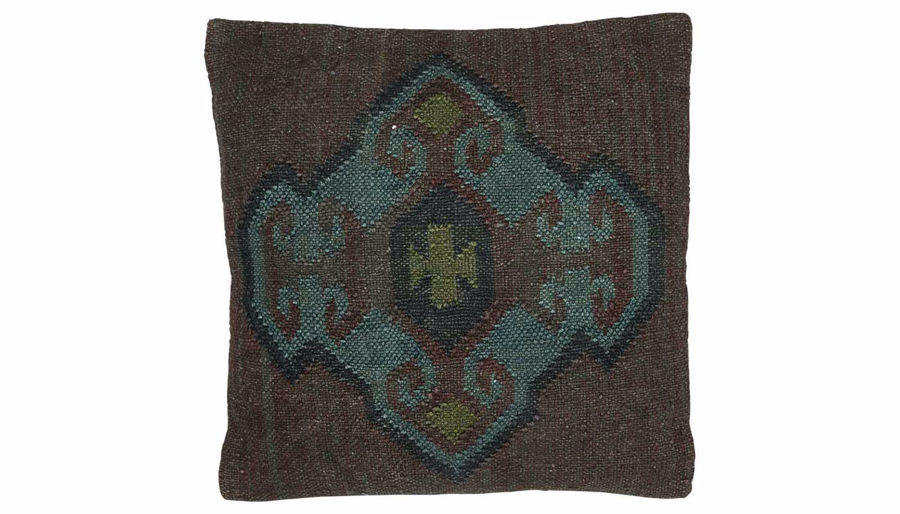 Picture of Faye Multi Wool & Jute Pillow