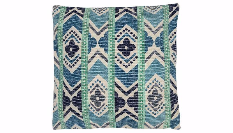 Picture of Perrin Blue Stripe Pillow
