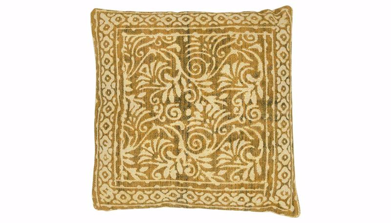 Picture of Rosello Gold Print Pillow