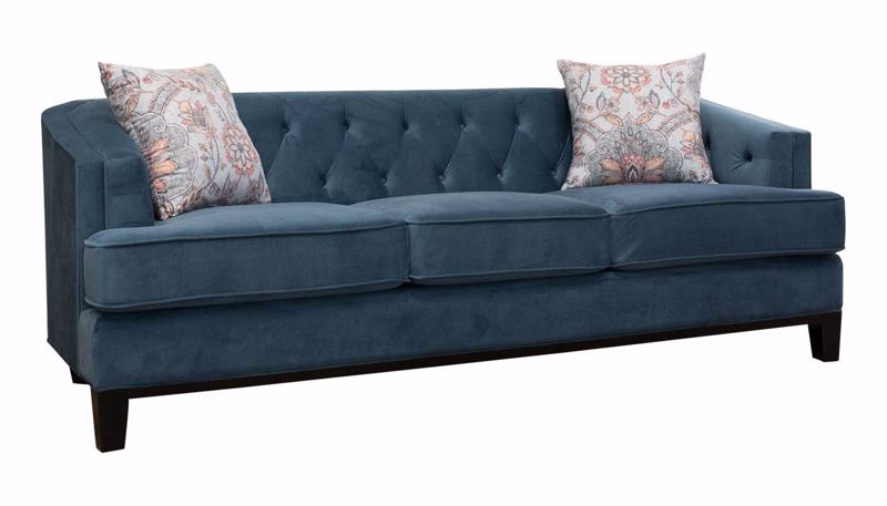 Picture of Capetown Midnight Sofa, Loveseat & Chair