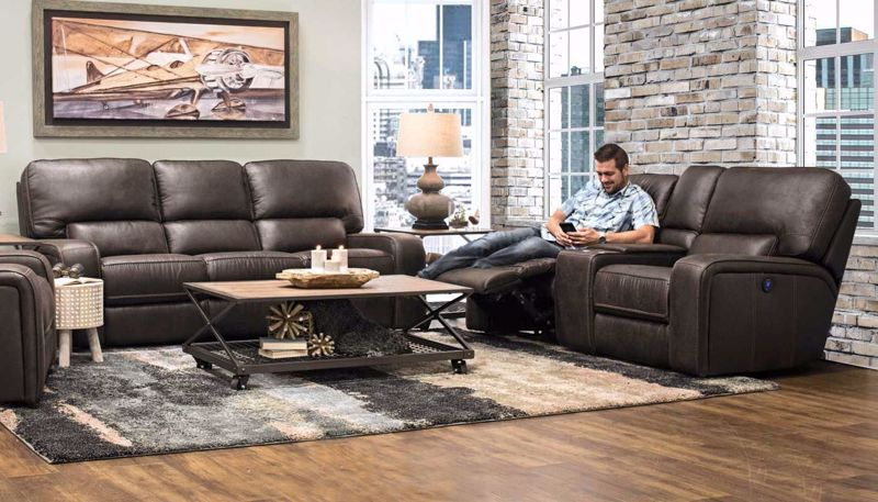 Picture of Brighton II Sofa, Loveseat & Recliner