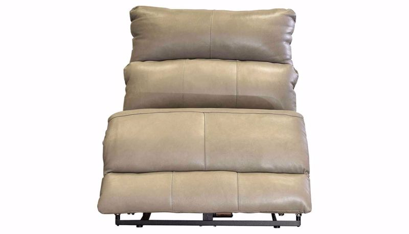 Imagen de Overstreet Cobblestone Leather Sillón Reclinable sin Apoyabrazoss wi